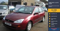 USED 2002 02 FORD FOCUS 1.6 LX 5d 99 BHP VERY LOW MILEAGE - ONLY 9,432 MILES FROM NEW