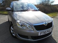 2010 SKODA FABIA 1.2 SE TSI DSG 5d AUTO 103 BHP ** AUTO, YES ONLY 27K FROM NEW , TRUELY OUTSTANDING VEHICLE ** £6595.00