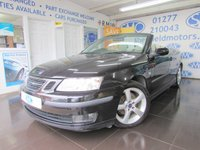 2007 SAAB 9-3 2.0 VECTOR T 2d 150 BHP £SOLD