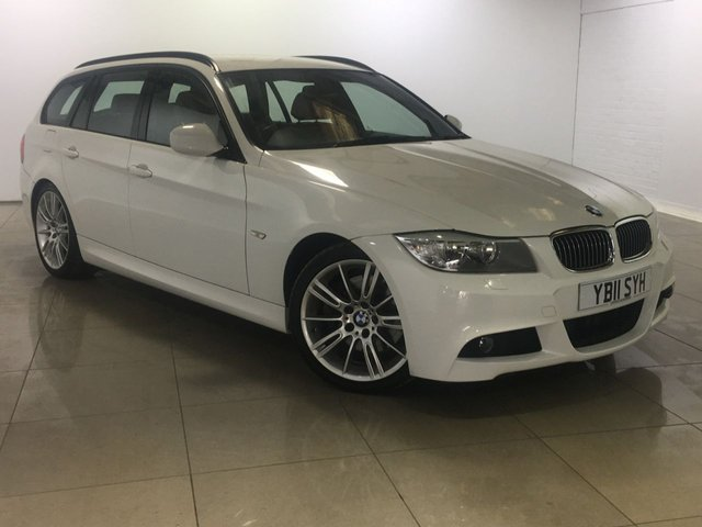 View our 2011 11 BMW 3 SERIES 3.0 330D M SPORT TOURING 5d 242 BHP