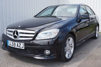 USED 2009 59 MERCEDES-BENZ C CLASS 2.1 C220 CDI BLUEEFFICIENCY SPORT 4d 170 BHP FULL SERVICE HISTORY