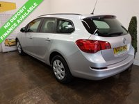 USED 2012 62 VAUXHALL ASTRA 1.7 EXCLUSIV CDTI ECOFLEX 5d 108 BHP FULL SERVICE HISTORY+CAMBELT CHANGED@ 99194 MILES.