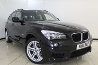 USED 2011 61 BMW X1 2.0 XDRIVE18D M SPORT 5DR 141 BHP BMW SERVICE HISTORY + HEATED LEATHER SEATS + PARKING SENSOR + BLUETOOTH + CRUISE CONTROL + MULTI FUNCTION WHEEL + RADIO/CD + 18 INCH ALLOY WHEELS