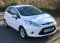 USED 2012 12 FORD FIESTA 1.25 ZETEC 3d 81 BHP Excellent Condition