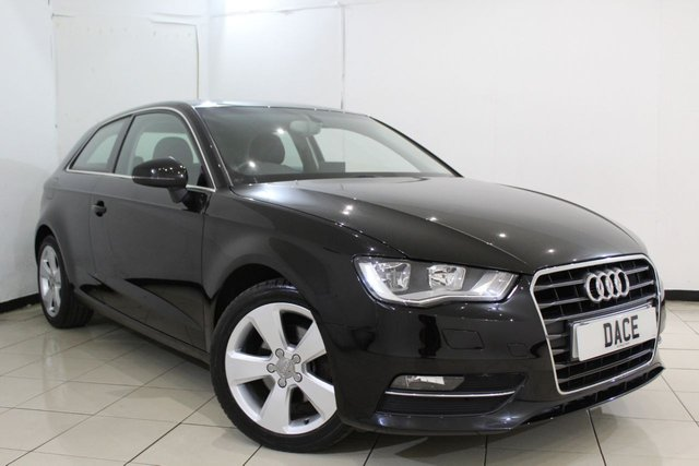 View our 2014 14 AUDI A3 1.6 TDI SPORT 3DR AUTOMATIC 109 BHP