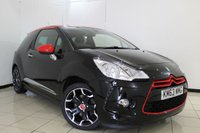 USED 2013 63 CITROEN DS3 1.6 DSPORT RED 3DR 155 BHP CRUISE CONTROL + PARKING SENSOR + AIR CONDITIONING + AUXILIARY PORT + 17 INCH ALLOY WHEELS