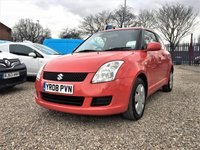 2008 SUZUKI SWIFT 1.3 GL 3d  £SOLD