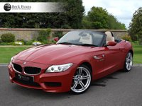 USED 2014 14 BMW Z4 2.0 Z4 SDRIVE20I M SPORT ROADSTER 2d AUTO 181 BHP SATELITE NAVIGATION 19 INCH ALLOYS