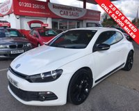 USED 2009 58 VOLKSWAGEN SCIROCCO 2.0 GT 200 BHP TSI COUPE