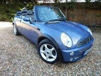2006 MINI CONVERTIBLE 1.6 COOPER 2d 114 BHP £3495.00