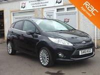 USED 2011 61 FORD FIESTA 1.4 TITANIUM 5d 96 BHP 5 Service Stamps , Bluetooth , DAB Radio , USB and AUX
