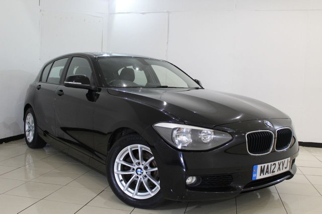 View our 2012 12 BMW 1 SERIES 1.6 116D EFFICIENTDYNAMICS 5DR 114 BHP