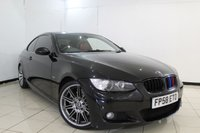 USED 2008 58 BMW 3 SERIES 3.0 325I M SPORT 2DR AUTOMATIC 215 BHP SERVICE HISTORY + HEATED LEATHER SEATS + PARKING SENSOR + CRUISE CONTROL + MULTI FUNCTION WHEEL + 18 INCH ALLOY WHEELS