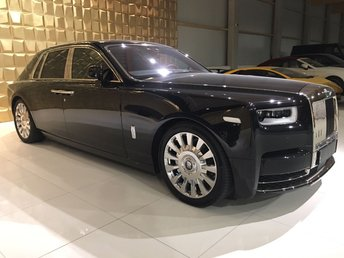 2018 ROLLS-ROYCE PHANTOM VIII SWB DELIVER MILES ONLY  £550000.00