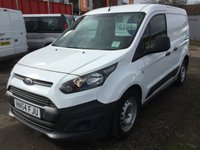 2014 FORD TRANSIT CONNECT 1.6 200 P/V 1 OWNER  £6799.00