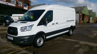 USED 2014 64 FORD TRANSIT 2.2 350 C/C DRW 1d 99 BHP LWB SEM/ HI / ROOF 1 OWNER F/SH  FREE 12 MONTHS WARRANTY COVER ///