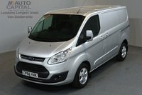 USED 2017 66 FORD TRANSIT CUSTOM 2.0 290 LIMITED LR P/V 5d 129 BHP SWB AIR CONDITION ALLOY WHEEL EURO 6 ONE OWNER FROM NEW
