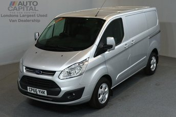 2017 FORD TRANSIT CUSTOM 2.0 290 LIMITED LR P/V 5d 129 BHP SWB AIR CONDITION ALLOY WHEEL EURO 6 £14490.00