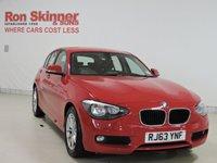 USED 2014 63 BMW 1 SERIES 1.6 116D EFFICIENTDYNAMICS 5d 114 BHP