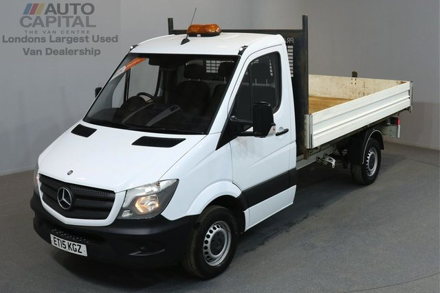 2015 15 MERCEDES-BENZ SPRINTER 2.1 313 CDI 129 BHP MWB TIPPER ONE OWNER FROM NEW, SERVICE HISTORY