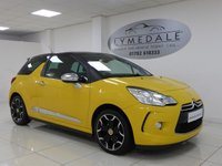 2011 CITROEN DS3 1.6 THP DSPORT PLUS 3d 150 BHP £6790.00