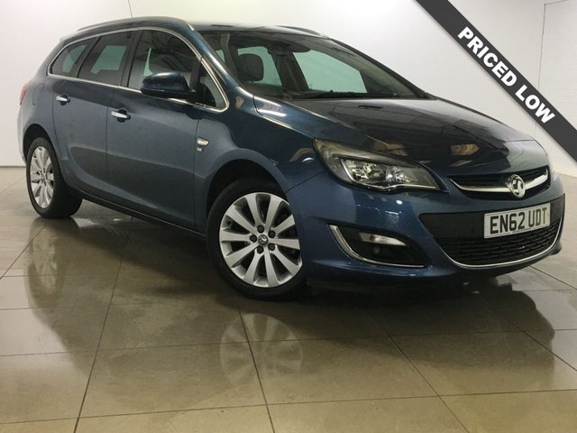 View our 2013 62 VAUXHALL ASTRA 1.6 SE 5d AUTO 115 BHP