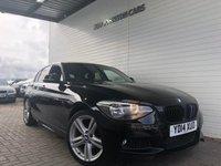 2014 BMW 1 SERIES 2.0 116D M SPORT 5d 114 BHP £9995.00