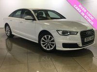 USED 2015 15 AUDI A6 2.0 TDI ULTRA SE 4d 188 BHP 1 Owner/Sat Nav/Black Leather