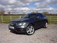 USED 2014 64 AUDI Q5 2.0 TDI QUATTRO S LINE PLUS 5d AUTO 175 BHP 2 OWNERS FROM NEW WITH FULL AUDI SERVICE HISTORY