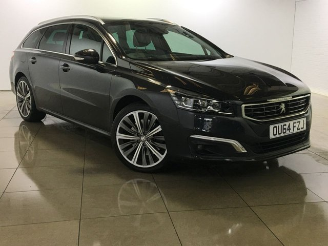 View our 2015 64 PEUGEOT 508 2.2 HDI SW GT 5d AUTO 200 BHP