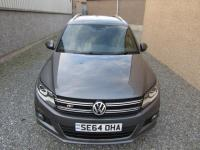 USED 2015 64 VOLKSWAGEN TIGUAN 2.0 TDI BlueMotion Tech R-Line 4MOTION (s/s) 5dr 1 OWNER 4 MOTION