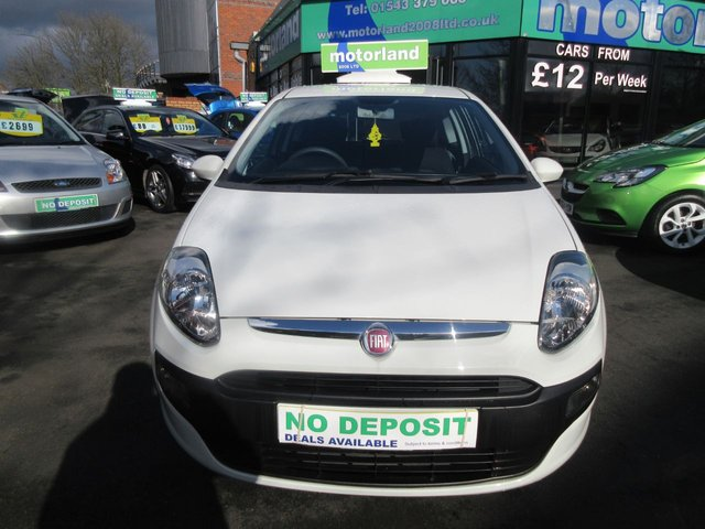 USED 2011 11 FIAT PUNTO EVO 1.2 ACTIVE 3d 68 BHP 12 MONTHS MOT... 6 MONTHS WARRANTY... LOW MILEAGE... JUST ARRIVED
