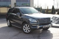 USED 2012 62 MERCEDES-BENZ M CLASS ML350 BLUETEC SPECIAL EDITION 3.0 5d AUTO 2 OWNER - MBSH 55K - BIG SPEC