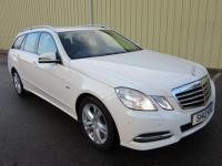 USED 2012 12 MERCEDES-BENZ E CLASS 2.1 E220 CDI BlueEFFICIENCY SE (Executive) 7G-Tronic 5dr 1 PREV OWNER SCARCE IN WHITE