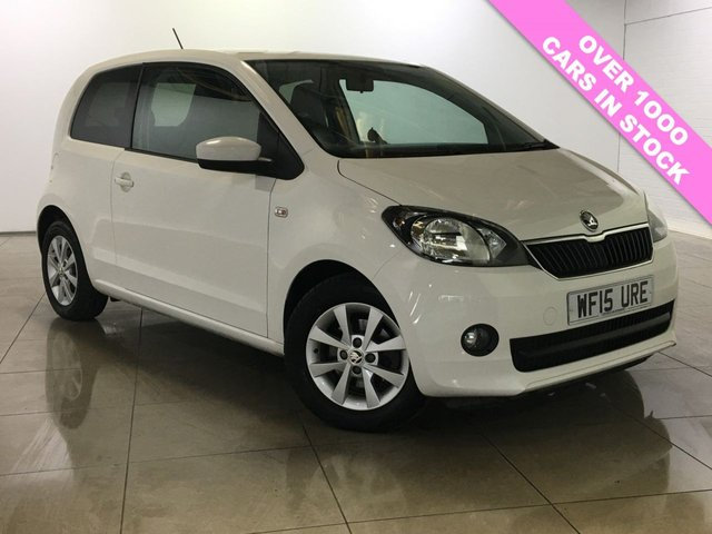 View our 2015 15 SKODA CITIGO 1.0 ELEGANCE GREENTECH 3d 59 BHP