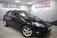 USED 2014 14 FORD FOCUS 1.6 ZETEC TDCI 5d 113 BHP Bluetooth , Cheap Tax, DAB radio, Great MPG, Heated windscreen