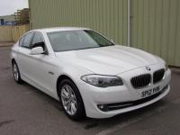 USED 2012 12 BMW 5 SERIES 2.0 520d EfficientDynamics BluePerformance 4dr 1 OWNER SCARCE MANUAL