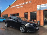 USED 2015 15 MERCEDES-BENZ A CLASS 1.5 A180 CDI BLUEEFFICIENCY AMG SPORT 5d 109 BHP Just 1 previous private owner,     Contrasting leather upholstery,     Bluetooth,     Rear privacy glass