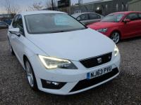 USED 2013 63 SEAT LEON 2.0 TDI CR FR (Tech Pack) 5dr (start/stop) SEAT PLUS 1 0WNER