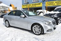 2011 MERCEDES-BENZ C CLASS  C200 CDI BLUEEFFICIENCY ELEGANCE 4d AUTO 134 BHP £SOLD