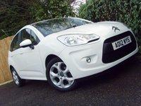 2012 CITROEN C3 1.4 WHITE 5d 72 BHP £4499.00