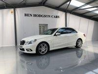 2010 MERCEDES-BENZ E CLASS 3.0 E350 CDI BLUEEFFICIENCY SPORT 4d AUTO 231 BHP £13000.00