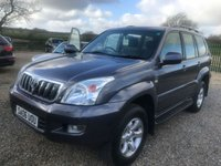 2006 TOYOTA LAND CRUISER 3.0 LC3 8-SEATS D-4D 5d AUTO 114000 miles very clean example great driver  £7995.00