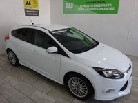 USED 2012 62 FORD FOCUS 1.0 ZETEC S S/S 5d 124 BHP