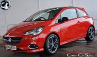 2016 VAUXHALL CORSA 1.4T RED EDITION 3 DOOR 6-SPEED 150 BHP £SOLD