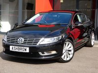 USED 2013 63 VOLKSWAGEN CC 2.0 TDI GT BLUEMOTION TECH DSG 4d 177 S/S FULL VW HIST, SAT NAV, FULL LEATHER INTERIOR, HEATED FRONT SEATS, SPORT SEATS, MAG RIDE SUSPENSION, FRONT & REAR PARKING SENSORS W/ DISPLAY, DAB RADIO, BLUETOOTH PHONE+MUSIC STREAMING, TINTED GLASS, BI XENON HEADLIGHTS, CRUISE CONTROL, LIGHT & RAIN SENSORS W/ AUTO DIMMING REAR VIEW, 18 INCH INTERLAGOS ALLOYS, LEATHER MULTI FUNCTION STEERING WHEEL W/ PADDLE SHIFT, DUAL ZONE CLIMATE A/C, AUTO HOLD, MDI INPUT FOR IPOD/USB, SD READER, TYRE PRESSURE MONITORING SYSTEM, HEATED DOOR MIRRORS, VAT Q