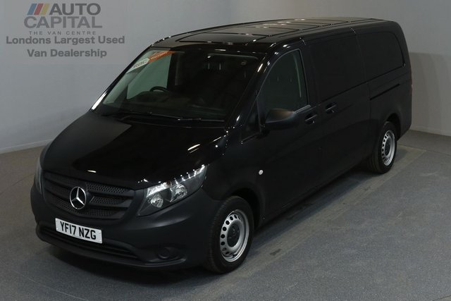 2017 17 MERCEDES-BENZ VITO 2.1 114 BLUETEC TOURER PRO 5d 136 BHP AUTO RWD LWB A/C REV.CAM MINIBUS 9SEAT EURO 6 ONE OWNER FROM NEW