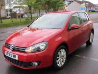 USED 2011 61 VOLKSWAGEN GOLF 1.6 TDI Match 5dr 1 OWNER £30 TAX 65 MPG