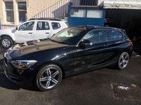 2013 BMW 1 SERIES 1.6 114I SPORT 3d 101 BHP £8690.00