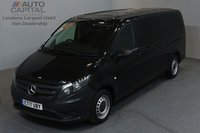 USED 2017 17 MERCEDES-BENZ VITO 2.1 114 BLUETEC TOURER PRO 5d 136 BHP AUTO RWD LWB A/C REV.CAM MINIBUS 9SEAT EURO 6 ENGINE  ONE OWNER FROM NEW
